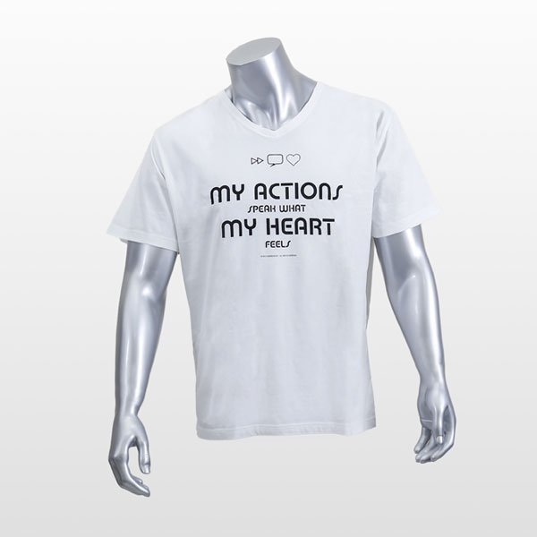 My Actions Speak What My Heart Feels